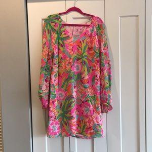Lily Pulitzer Carleigh Silk Chiffon Dress Lulu